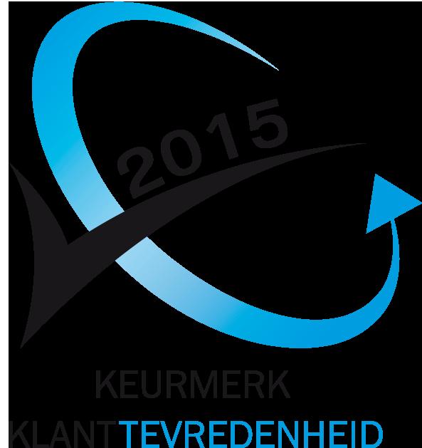 Verkrijgbaar Keurmerk Klanttevredenheid 2015